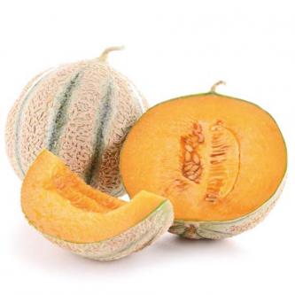 """<p class=""""nom"""">Charentais</p><p class=""""description"""">Reconnaissable à son écorce recouverte d'une résille liégeuse. Très goûteux et fort en parfum, le melon Charentais se déguste généralement en entrée. France </p><p class=""""disponibilite"""">mai à septembre</p>"""