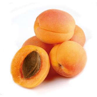 """<p class=""""nom"""">Harogem</p><p class=""""description"""">Ferme, ce petit abricot de forme plate a un petit goût de noisette caractéristique</p><p class=""""disponibilite"""">juin à juillet</p>"""