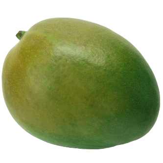 """<p class=""""nom"""">La mangue Amélie</p><p class=""""description"""">Sa caractéristique : Sa peau verte uniforme cache une chair délicieusement parfumée, juteuse et tendre.</p>"""