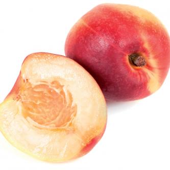"""<p class=""""nom"""">Nectarine blanche</p><p class=""""description"""">Fondante, savoureuse et juteuse, parfois fragile</p><p class=""""disponibilite"""">juin à septembre</p>"""