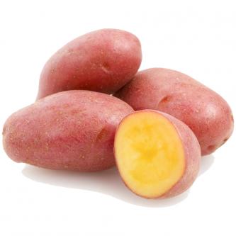 """<p class=""""nom"""">Rosabelle</p><p class=""""description"""">Pomme de terre à chair fondante. Cette variété demi précoce est faite pour les gratins.</p><p class=""""specificite"""">four, soupe, potage, purée</p>"""