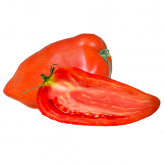"""<p class=""""nom"""">La Cornue des Andes</p><p class=""""description"""">Sa caractéristique : Très parfumée, cette tomate est l'une des plus fermes des tomates anciennes. Ce qui ne signifie pas qu'elle n'est pas mûre, au contraire son goût est très prononcé.</p>"""