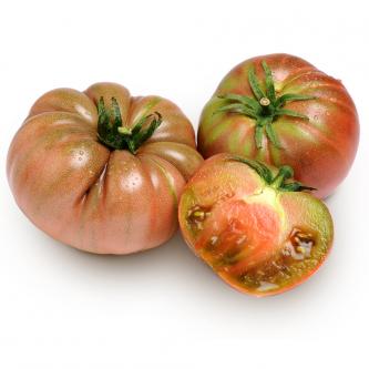 """<p class=""""nom"""">La Russe Rouge</p><p class=""""description"""">Sa caractéristique : Sa chair dense, tendre, sucrée, juteuse, et sa taille imposante font de la Russe rouge une tomate idéale à farcir. A ne pas négliger pour autant en salades, son parfum étant très prononcé.</p>"""