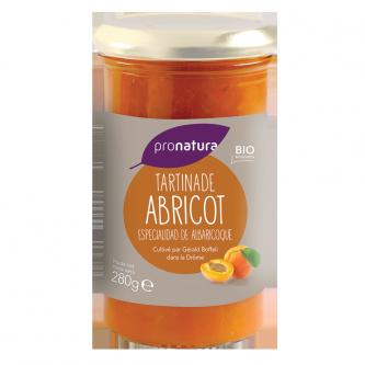 """<p class=""""nom"""">Tartinade Abricot</p><p class=""""description"""">La tartinade d'abricots a été réalisée avec les abricots Bergeron et Orangé de Provence cultivés en Drôme Provençale.</p><p class=""""format"""">280 g</p>"""